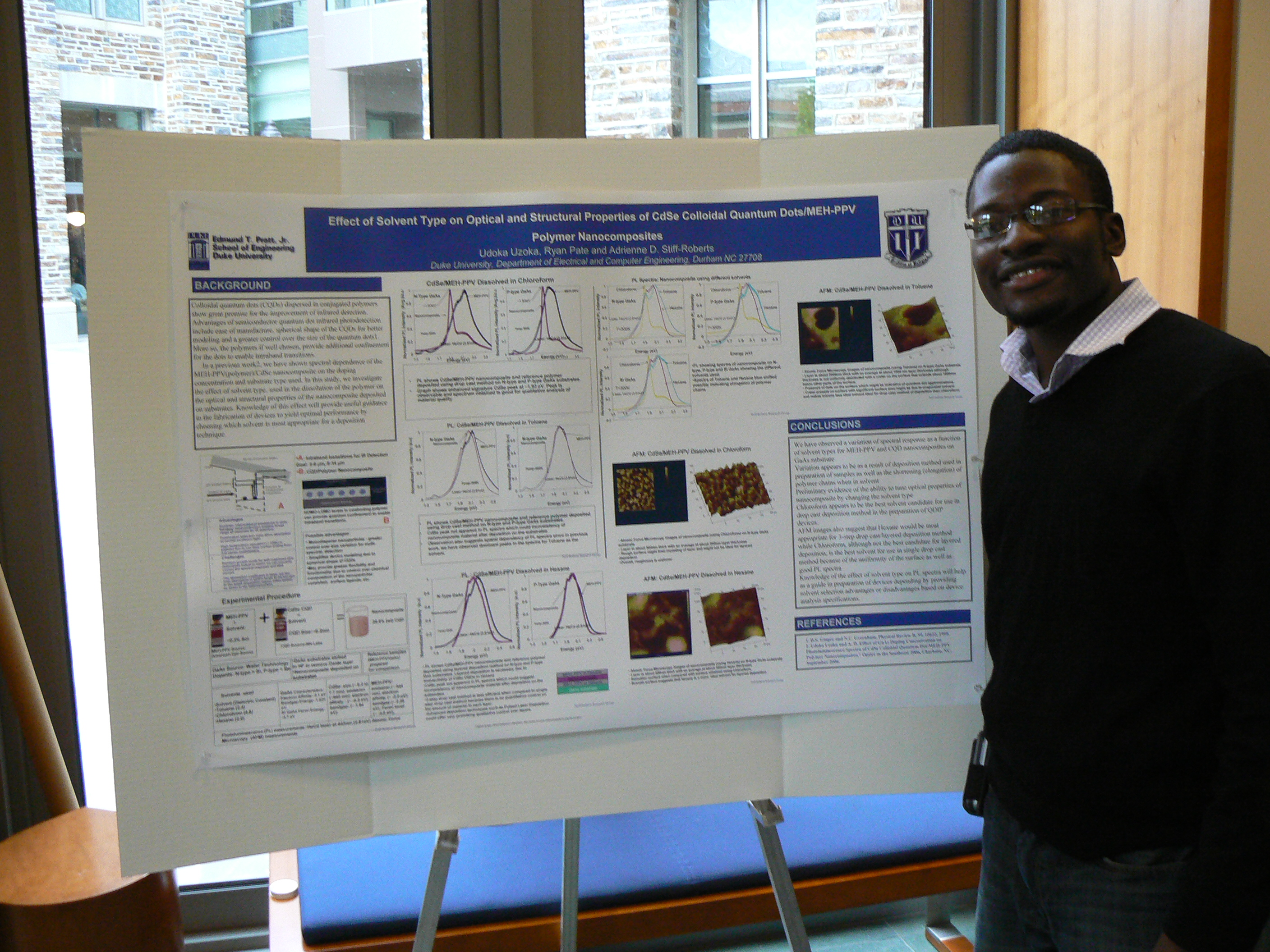 recent poster session examples
