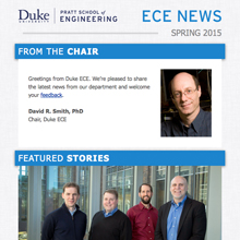 Duke ECE E-Newsletter