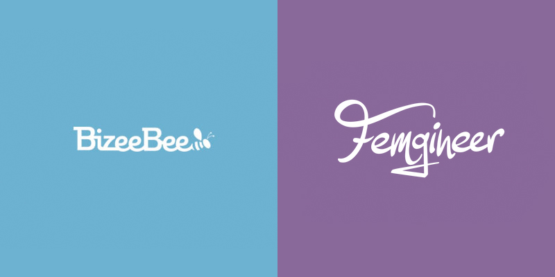 BizeeBee and Femgineer logos