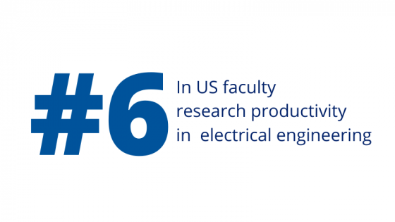 #6 in electrical engineering productivity