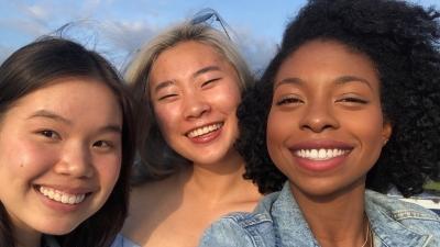 three DTech scholars