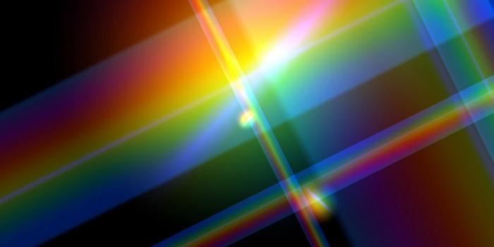 rainbow colored lights