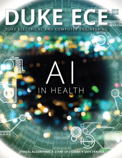 Duke ECE Magazine - 2018-2019 Cover