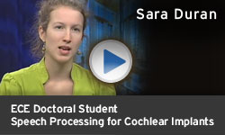 Sara Duran - Speech Processing for Cochlear Implants