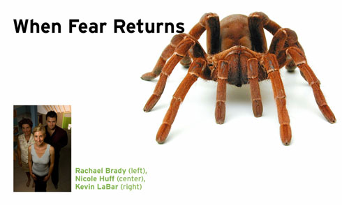 When fear returns