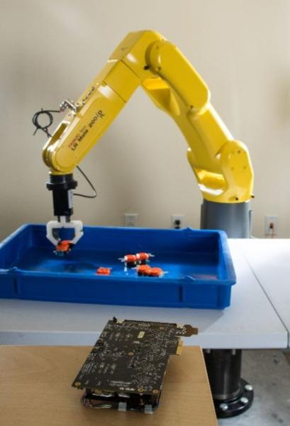 Realtime's RapidPlan MPA processor is used to control robots such as this Fanuc
