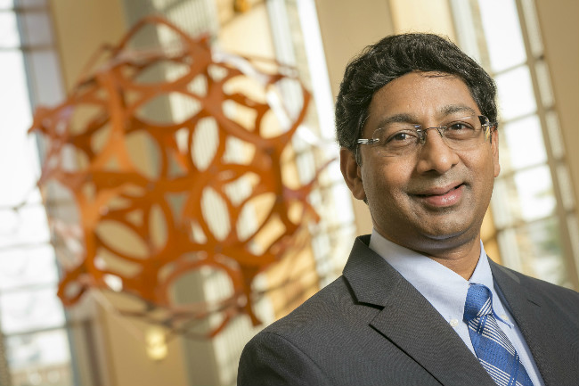 Ravi Bellamkonda, new Vinik Dean of Duke University's Pratt School of Engineering